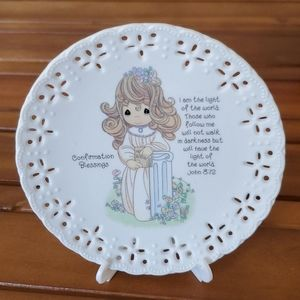 Precious Moments 1994 Conformation Blessings Plate